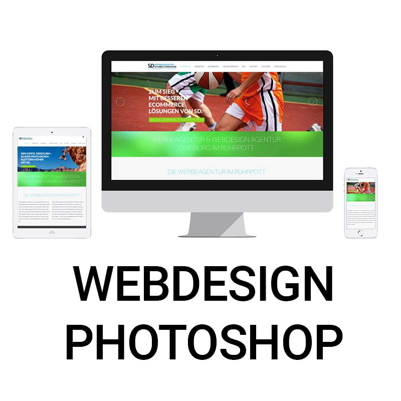 Webdesign Pgotoshop